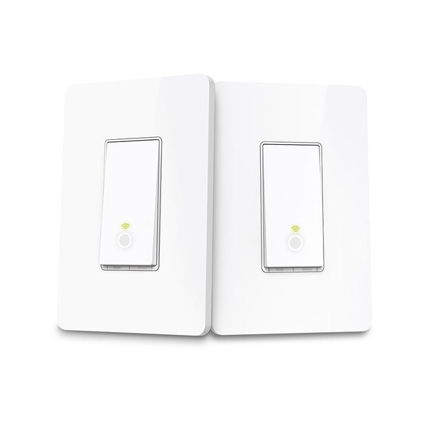 Kasa Smart Wi-Fi 3-way Light Switch Kit for 2 Locations by TP-Link - White