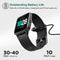 Letsfit ID205L Smart Watch & Fitness Tracker with Heart Rate Monitor - Black