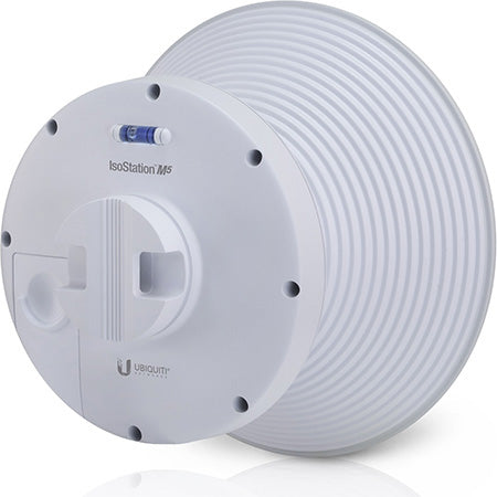 Ubiquiti Shielded airMAX IsoStation M5 5-GHz 14-dBi 150-Mbps Throughput CPE with 45-degree Horn Antenna