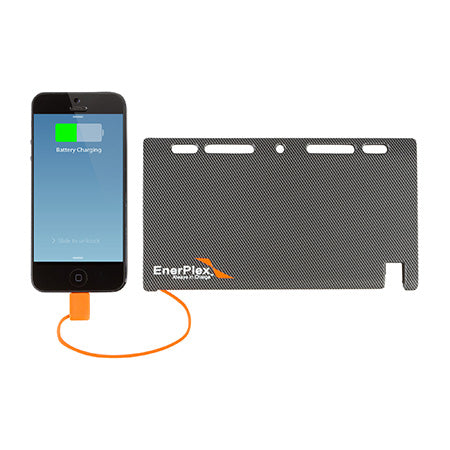 EnerPlex Jumpr 5,100-mAh Lightning Connector Power Bank - Grey