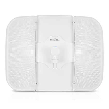 Ubiquiti airMAX LiteBeam 5-GHz 26-dBi 2x2 MIMO High Gain Directional Long Range CPE with Dedicated Management Radio