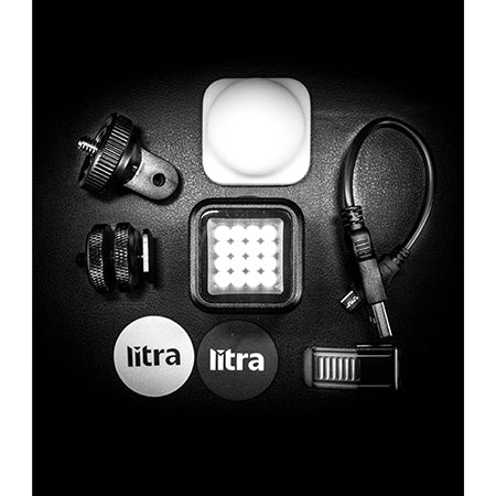 LitraTorch 2.0 800 Lumen LED Photo and Video Light - Black