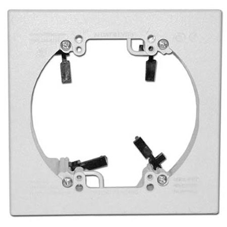 Arlington LV2RP Fast Installing Low Voltage Mounting Bracket - White