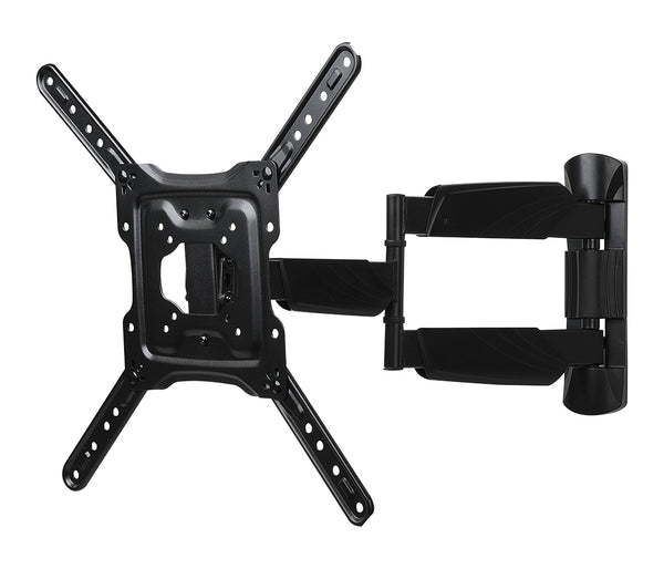 RCA Full Motion TV Wall Mount 23-in to 60-in - Black