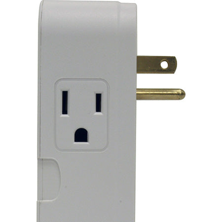 Panamax 2 Outlet Direct Plug-In Surge Protector - Grey