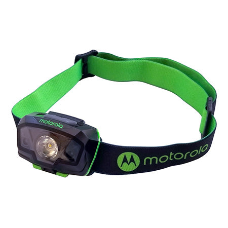 Motorola 240 Lumen Headlamp with Motion Sensing - Green