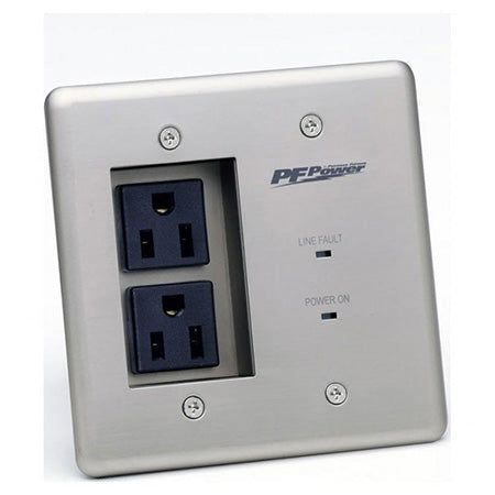 Panamax Pro Dual Gang In-Wall 2 Outlet Surge Protector