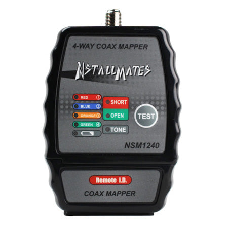 InstallMates 4-way Coax Mapping Tool with Colour Coded Indicators
