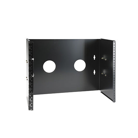 New World Telecom 8 RU Wall Bracket 9-in to 15-in - Black
