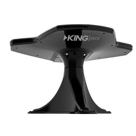 KING Jack HDTV Directional Over the Air Antenna with Mount for RVs - Black