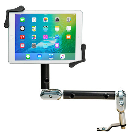 CTA Digital Universal Multi-Flex Car Mount for Tablets 7-in to 14-in - Black