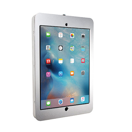 CTA Digital Security Wall Enclosure for iPad Pro 12.9-in - Silver