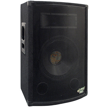 Pyle 20.3-cm (8-in) 2-Way 300-watt Speaker Cabinet -Black