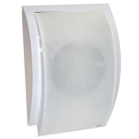 Pyle 16.5-cm (6.5-in) Indoor Surface Mount PA Wall Speaker with 70-volt Transformer - Single - White
