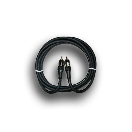 Powerlink Single RCA Audio Cable - 2-meter (6.5-ft) - Black