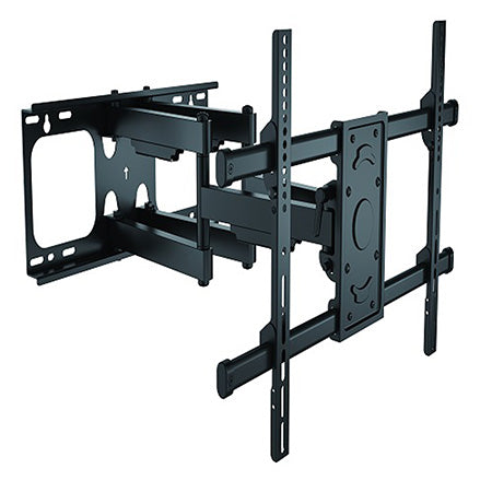 Prime Mounts Articulating TV Wall Mount 37-in to 70-in - Black