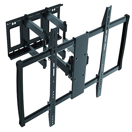 Prime Mounts Articulating TV Wall Mount 60-in to 100-in - Black