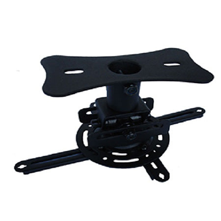 Prime Mounts Heavy Duty Projector Ceiling Mount - Black