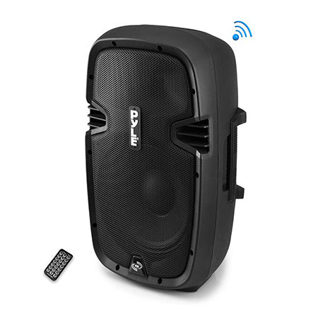 Pyle 2-Way 1200-watt Powered Bluetooth Loudspeaker - Single - Black
