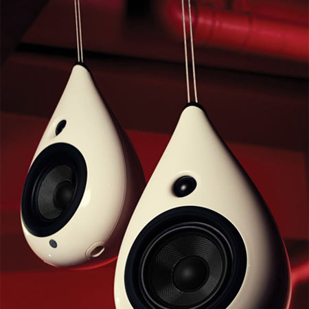Podspeakers Ceiling Mounts for the Podspeakers Drop Speaker - Pair - White