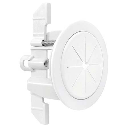 Midlite Speedport 2-in Cable Pass-Through Wall Anchor System - White