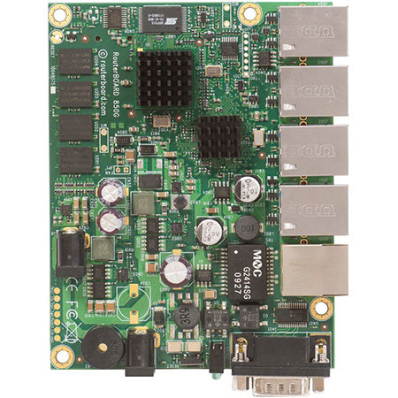 MikroTik RouterBOARD Dual Core PPC with Hardware Encryption Acceleration