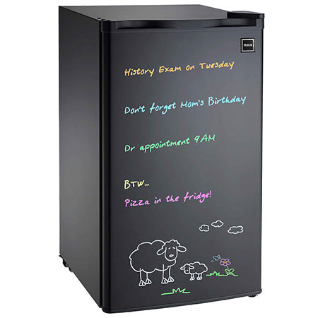 RCA 3.2-cu ft Dry Eraser Board Mini Refrigerator with Neon Markers