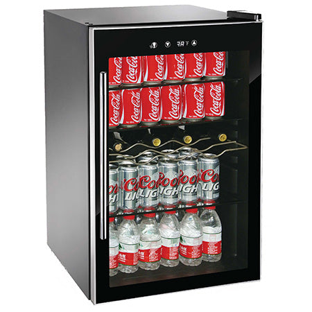 RCA 110 Can Beverage/Wine Cooler - Black