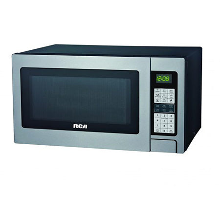 RCA 1.3-cu ft 1000-watt Countertop Microwave - Stainless Steel
