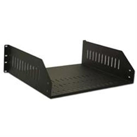 Royal Racks 3U Rack Shelf - Black