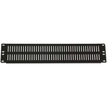 Royal Racks 2U Vent Plate - Black