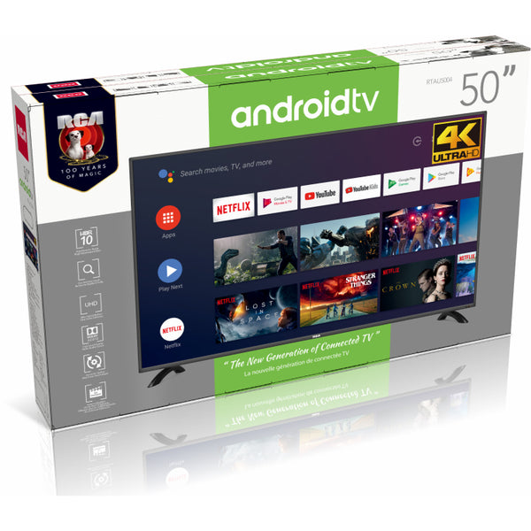 RCA 50-in Smart Android Ultra HD 4K TV