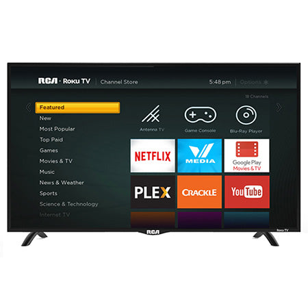 RCA 43-in 1080p HD LED Roku Smart TV