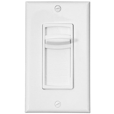 Saga Elite Single Gang Decora Style 100-watt Impedance Matching Sliding Volume Control - White