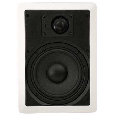 Saga Elite 16.5-cm (6.5-in) 2-Way In-Wall High Performance Loudspeaker - Pair - White