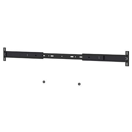 Prime Mounts Universal Telescopic Sound Bar Bracket - Black