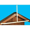 SureConX Adjustable Roof Peak Eave Mount