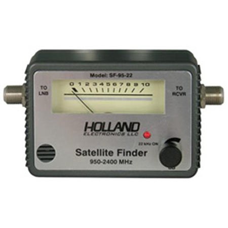 Holland Electronics Analog In-line Satellite Signal Meter with Tone