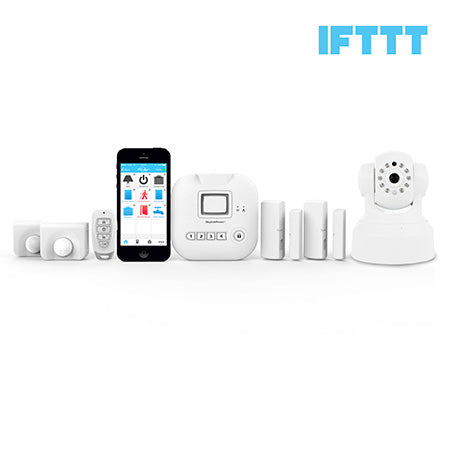 Skylink Connected Home Alarm System Starter Kit with Security Camera