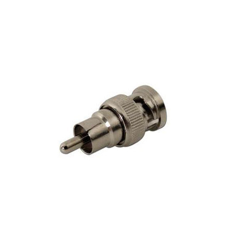 BNC Male to RCA Male Connector Adapter - Single