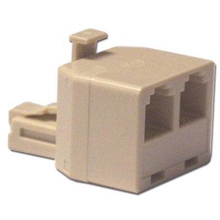 HomeWorx Telephone 1 x 2 T Adapter - Neutral