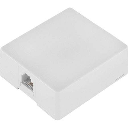 TDL Signature Series 4-Wire Surface Mount Box - White