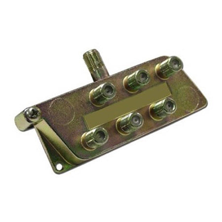 HomeWorx Signature Series Splitter 5-900MHz, 6-Way