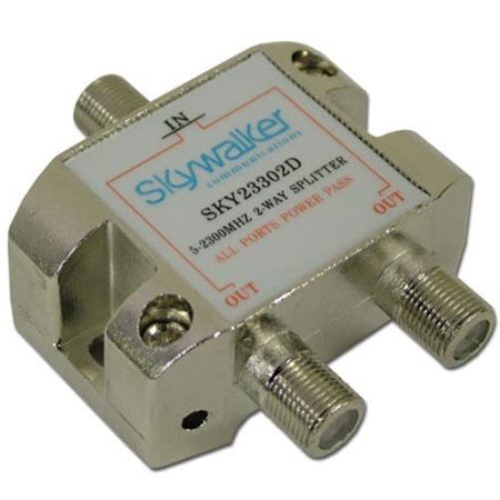 HomeWorx Signature Series Splitter 5-2300MHz, 2-Way