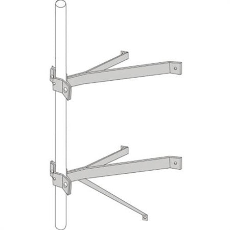 TDL Signature Series 20.3-cm (8-in) Heavy-duty Wall Mount