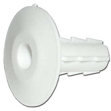 TDL Signature Series Single Feed-Through Bushing - 100-pack - White