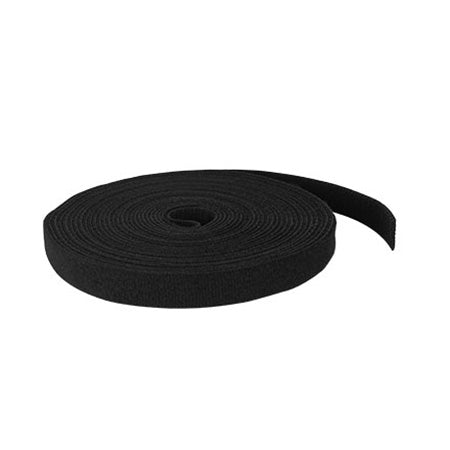 TDL Signature Series 7.6-meter (25-ft) Double Sided Hook and Loop Tape - Black