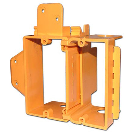 TDL Signature Series Clip On Single Gang Box with Adhesive Class 2 - Orange