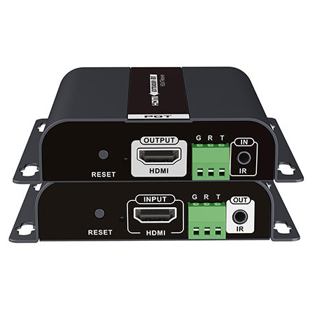 SecurLink HDMI Over Cat5e/Cat6 Extender Receiver with 3.5mm Audio - 120-meter (394-ft)