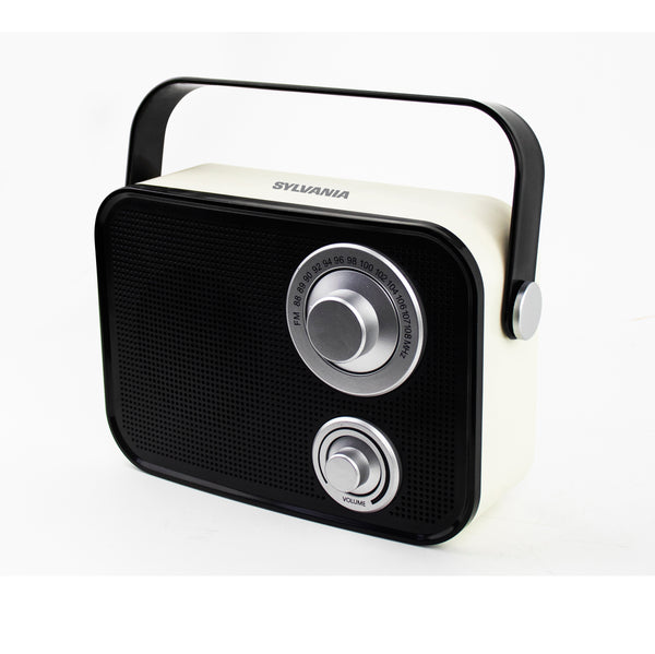 Sylvania Retro Design Bluetooth Speaker - Black